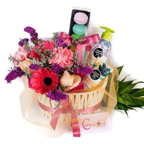 Flowers & Gift Basket