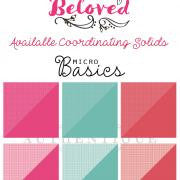 Authentique - Beloved Coordinating Micro Basics Dots & Solid Cardstock