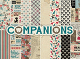 Authentique - COMPANIONS 12x12 Details Stickers (Pets, Dogs, Cats)