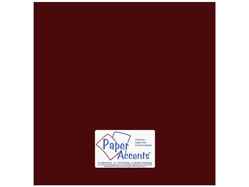 Paper Accents - Pomegranate Smooth 12x12 Cardstock 25 sheets #69