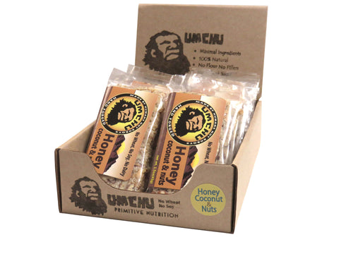 Honey Coconut & Nut (box of 12)