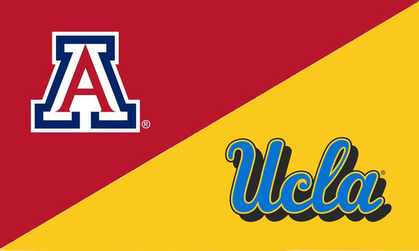 Arizona & UCLA House Divided Flag