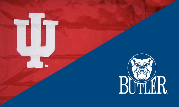 Indiana & Butler House Divided Flag