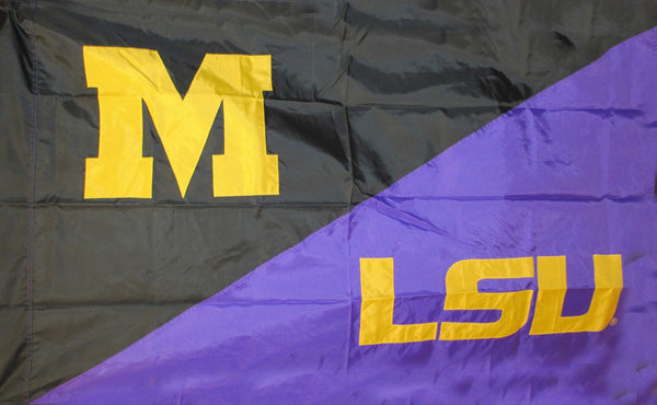 Missouri & LSU House Divided Flag
