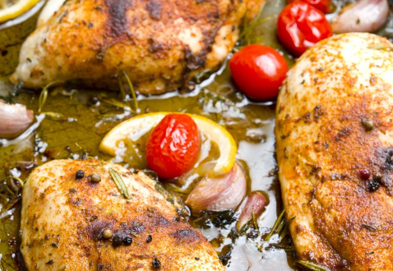 Lemon Myrtle Roast Chicken