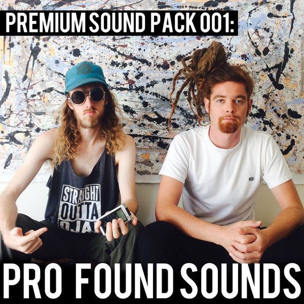 Premium Sound Pack 001: Pro Found Sounds