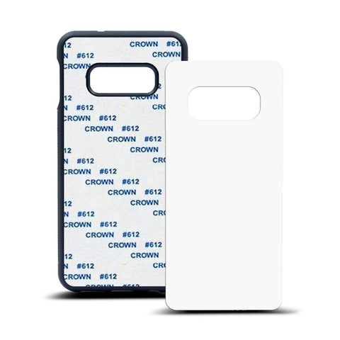 galaxy s10e sublimation blank rubber case