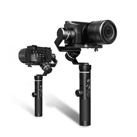 FeiyuTech G6 Plus 3-Axis Handheld Gimbal Stabiliser for Mirrorless Camera, Pocket Camera, GoPro, Smartphone,Payload 800g