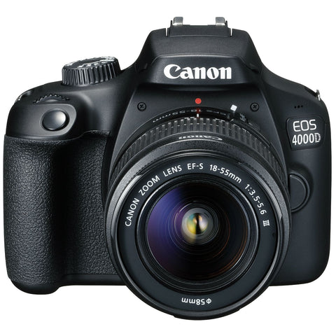 Canon EOS 4000D Twin Lens Kit