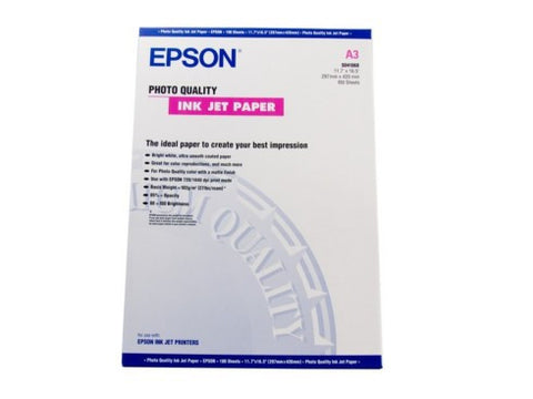 Epson | A3+ Photo Quality Ink Jet - 100 Sheets (102gsm)