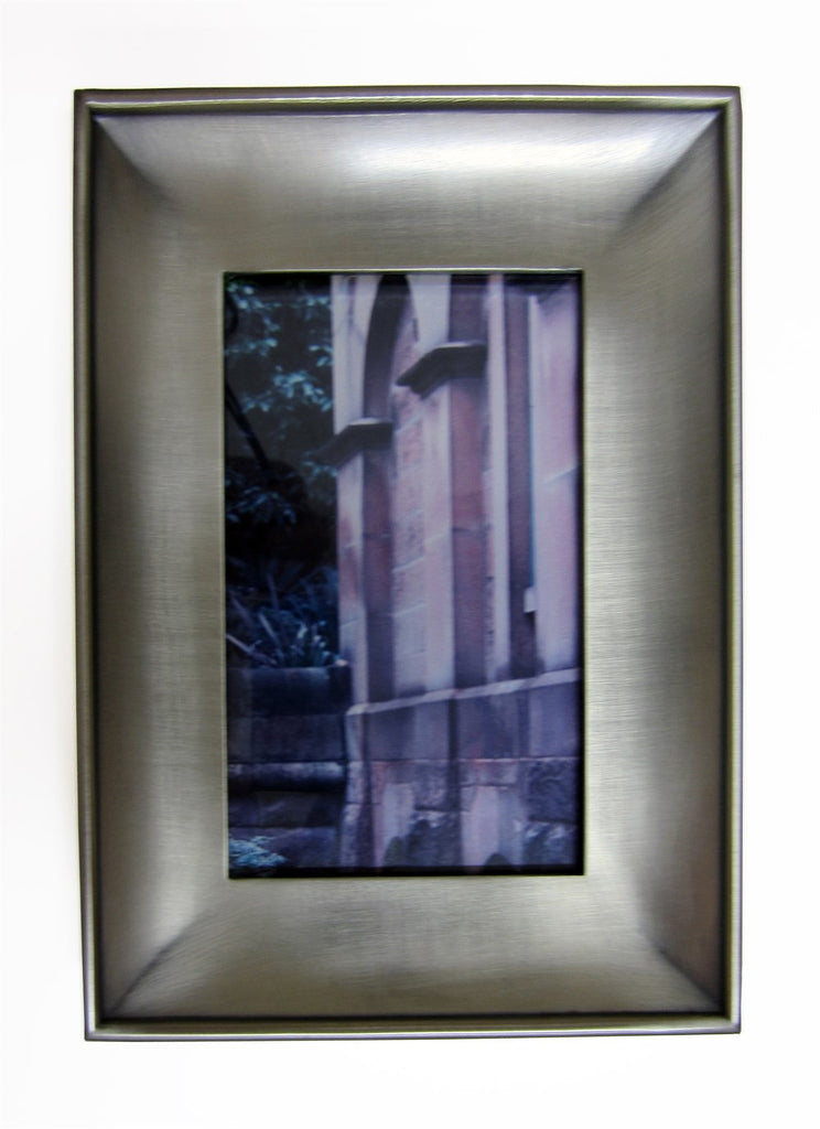 May Time Concave Pewter Look Frame 4x6