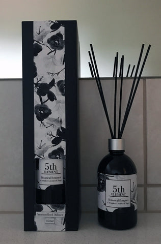 5th Element Melbourne 250ml Reed Diffuser - Botanical Bouquet