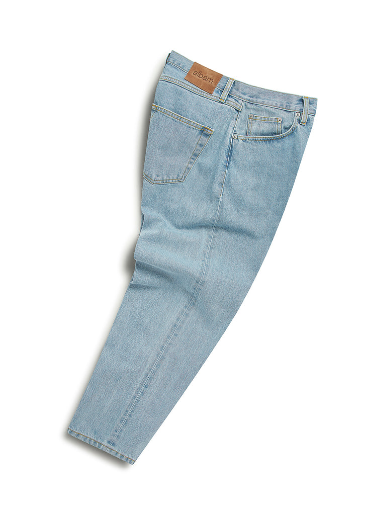 Bleached Taper Fit Jean