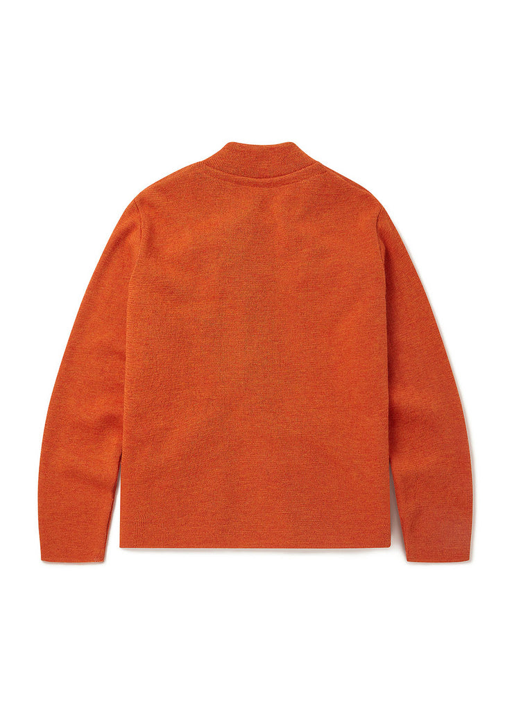 Milano Bomber in Burnt Orange
