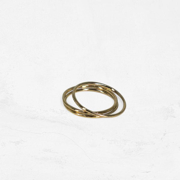 SOLSTICE Simple Stacking Ring