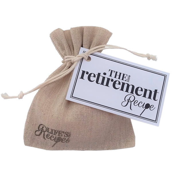 The Little Retirement Recipe - Life's Little Recipes