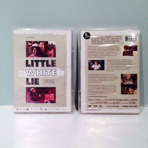 Little White Lie: DVD + Truth Circle Game from Lacey Schwartz - Jewish Gifts, Collectibles and Judaica | Reboot Shop
