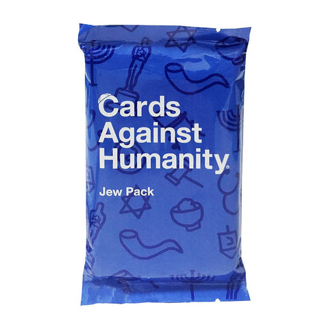 Cards Against Humanity: Jew Pack - Jewish Gifts, Collectibles and Judaica | Reboot Shop