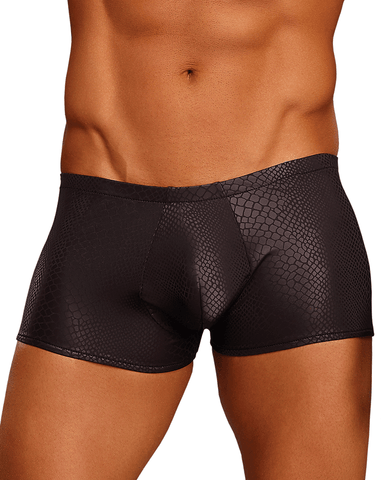 Male Power 145056 Branded Mesh Pouch Boxer Briefs Black