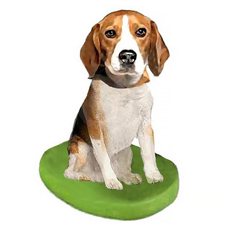 Custom Pet Dog Bobblehead - Beagle