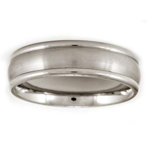 Men's Aircraft Grade Titanium Classic Comfort-Fit Wedding Band (7.00 mm)