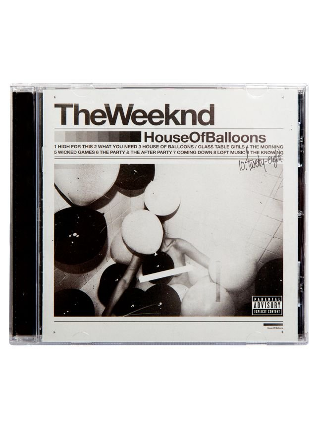 House Of Balloons CD OR MP3