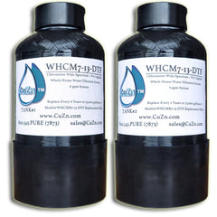 Whole House Chloramine + Pro Upgrade Water Filter WHCM7-13-DTF by CuZn