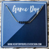 Blue & Navy Necklace