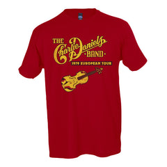 CDB 1979 European Tour Reproduction Tee