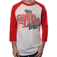 CDB 1982 Baseball Tee White/Red