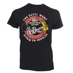 "NEW! ""The Devil Went Down To Georgia"" 40th Anniversary Short Sleeve Tee"