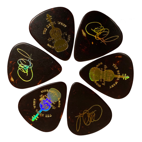 NEW! The Devil Went Down to Georgia 40th Anniversary Guitar Picks (Set of 6)
