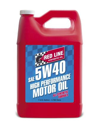 Redline 5W40 100% Synthetic Oil - QTY-1 Gallon (4 Quarts) - Flat 6 Motorsports - Porsche Aftermarket Specialists