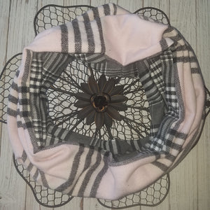 Lady In The Plaid - BWG Hooded Cowl Scarf