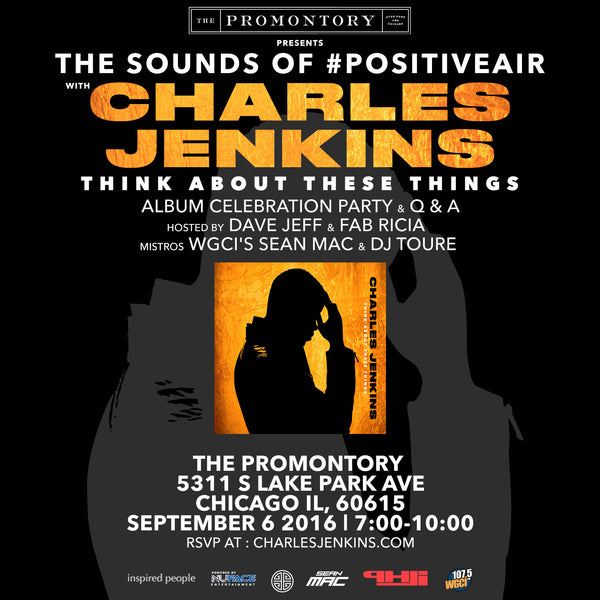 Think About These Things - Listening Party