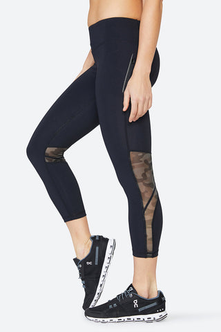 Mesh leggings, camouflage, body hugging, body forming, performance, sweat wicking, Chelsea Tight - Camo Mesh