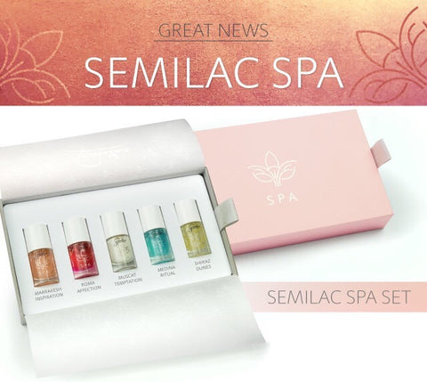SEMILAC SPA SET FOR WOMAN