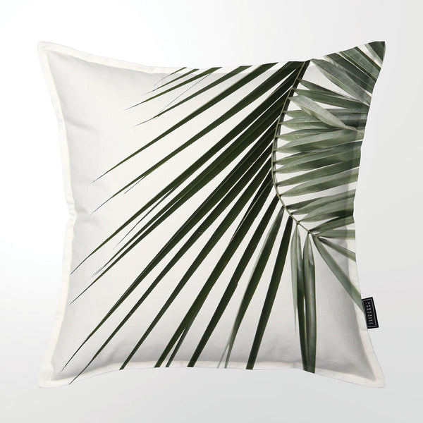 Scatter Cushion (Single sided print) - Coastal Palm Frond 02