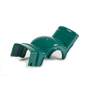 NL Spout-green - lower part for gravity bin