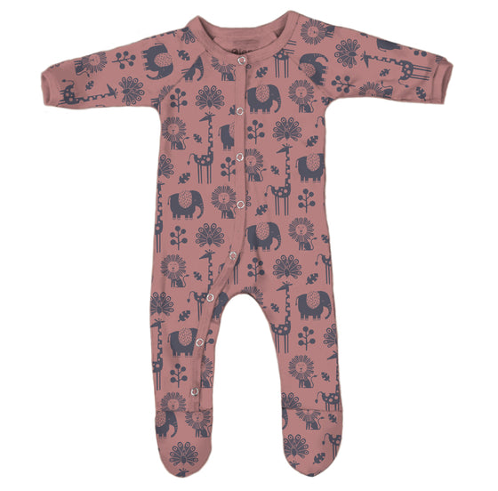 *NEW* Piha Footed Pajama - Apricot