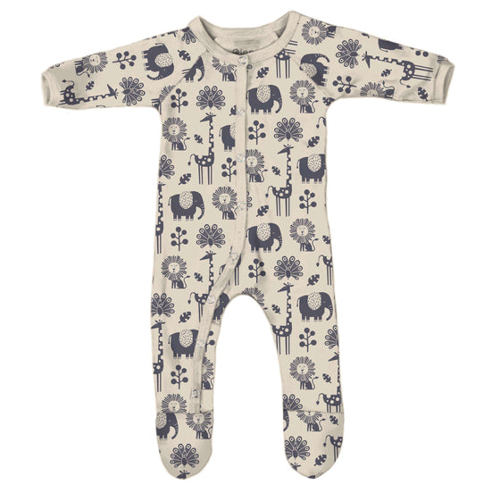 *NEW* Piha Footed Pajama - Natural