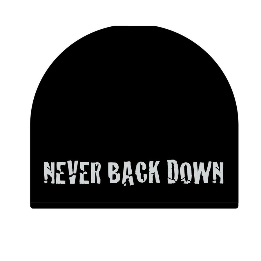 Never Back Down Beanie-Military Republic