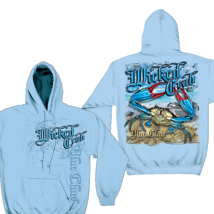Wicked Crab Hoodie-Military Republic