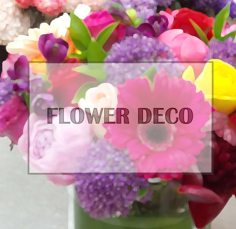 Flower Deco Monthly Delivery Package - For 1year
