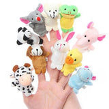 Animal Finger Puppets - Set of 10-PERSONAL-PropShop24.com