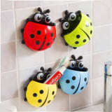 Toothbrush Holder - Lady Bug - Yellow-HOME-PropShop24.com