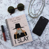 Notebook - I Slay - Wiro-STATIONERY-PropShop24.com