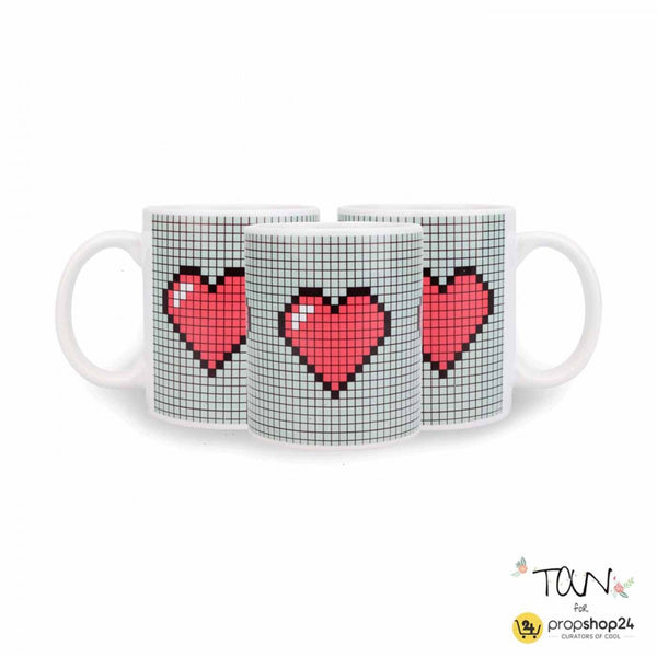 Coffee Mug - Pixel Heart-Home-PropShop24.com