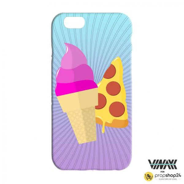Comic Ice Cream + Pizza Phone Case-Gadgets-PropShop24.com