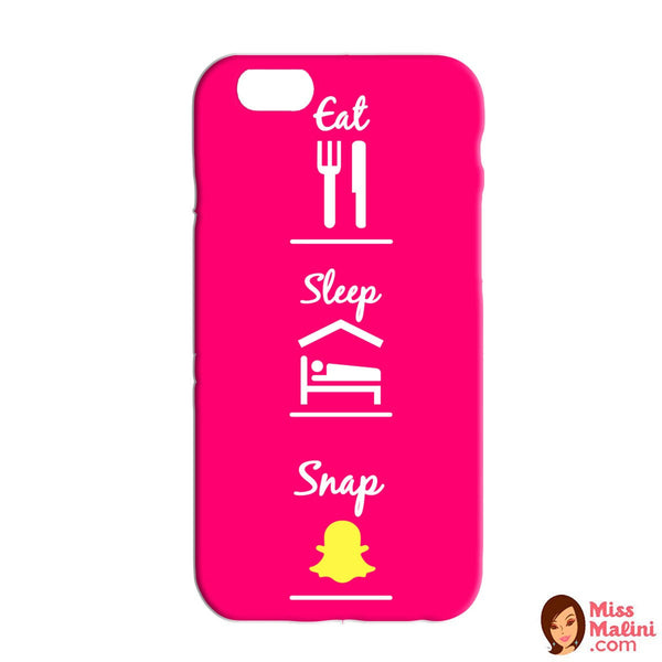 Eat Sleep Snap Pink Phone Case-Gadgets-PropShop24.com